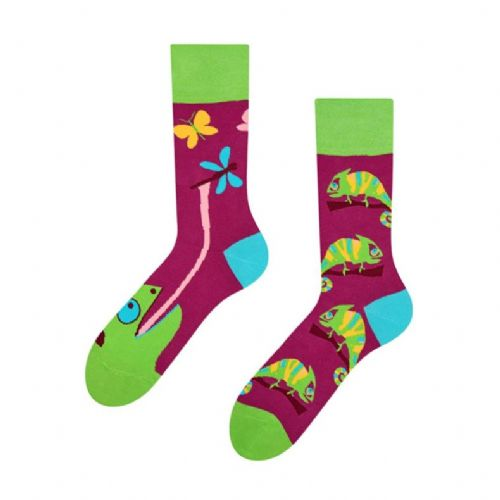 Good Mood | Adult Regular Socks | Chameleon
